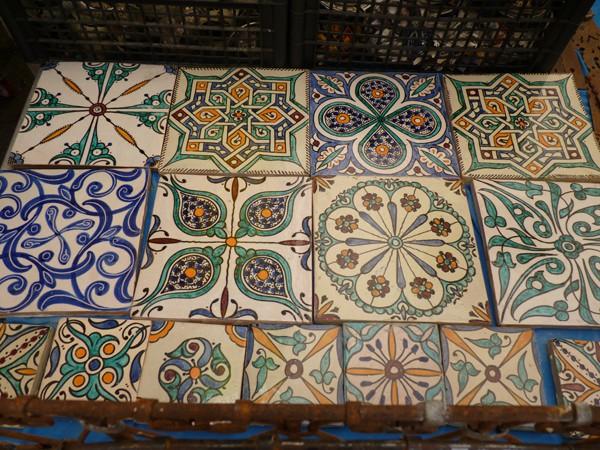 Ceramiche marocchine idea del concetto di interior design